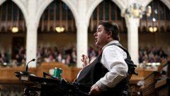 Le ministre des Sports et des Personnes handicapées, Kent Hehr. PHOTO CHRIS WATTIE, ARCHIVES REUTERS