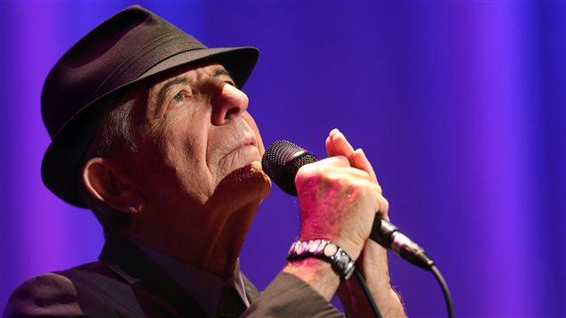 Leonard Cohen en concert Photo Credit: AFP