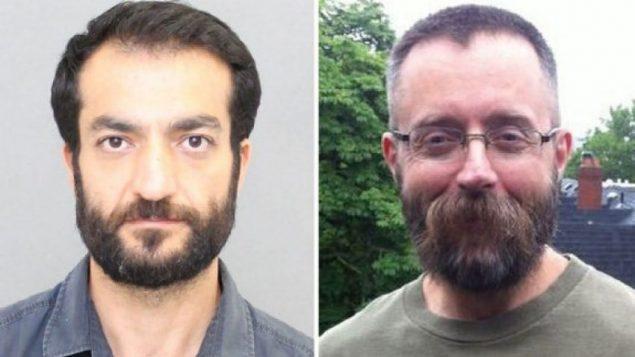Deux des cinq victimes présumées : Selim Esen, à gauche, et Andrew Kinsman ont disparu l'année dernière. (POLICE DE TORONTO)