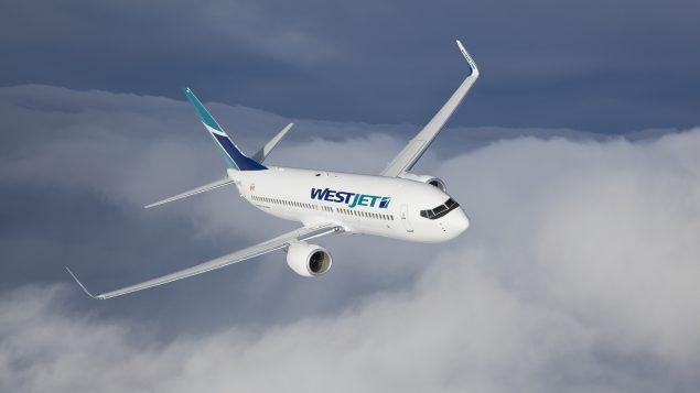 Un avoin Boeing 737-800 aux couleurs de Westjet