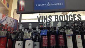 Section Origine Québec à la SAQ. Photo Credit: Émilie Parent-Bouchard