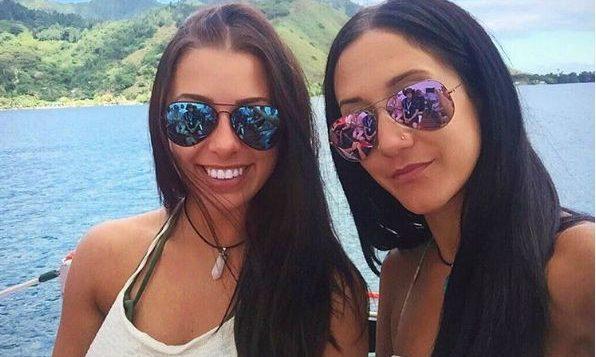 Mélina Roberge et Isabelle Lagacé... (Photo tirée du compte Instagram de Mélina Roberge et Isabelle Lagacé)