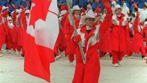 Jeux de Calgary en 1998. Photo : La Presse canadienne.