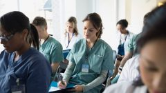 Des étudiants en sciences infirmières Photo : Getty Images/Hero Images