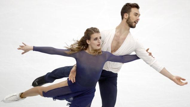 Gabriella Papadakis et Guillaume Cizeron - Radio-Canada