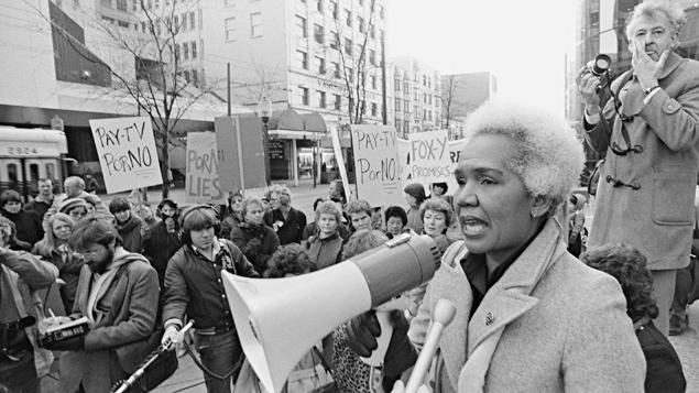 La première députée noire dans l'histoire du Canada. Photo Credit: PC / Photo : Chuck Stoody