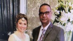 Sophie Grégoire, l'épouse de Justin Trudeau, apparaît en compagnie de Jaspal Atwal, reconnu coupable de tentative de meurtre d'un ministre indien et anciennement lié à un groupe radical sikh. Photo : Radio-Canada/CBC News