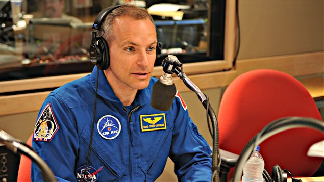 David Saint-Jacques, astronaute canadien © Radio-Canada/Marie-Eve Tremblay