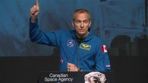 L'astronaute originaire de Québec David Saint-Jacques est le prochain Canadien à s'envoler vers la Station spatiale internationale où il effectuera une mission de six mois. Photo Credit: Radio-Canada
