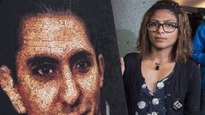 Raïf Badawi et son épouse Ensaf Haidar. Photo crédit : PC