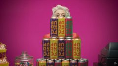 Extrait d'une publicité de la boisson alcoolisée FCKD UP Photo : Radio-Canada