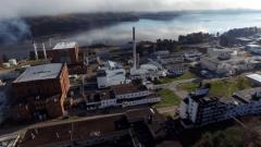 Chalk River accueille le plus vieux laboratoire de recherche nucléaire du Canada. On y a notamment développé le réacteur CANDU. Photo : Radio-Canada