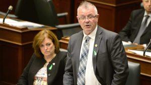 Le ministre du Travail de l'Ontario, Kevin Flynn. Photo : Radio-Canada