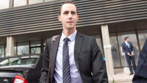 Michael Sona, un employé du Parti conservateur a été condamné à 9 mois de prison pour appels téléphoniques «calleux». Photo: CBC