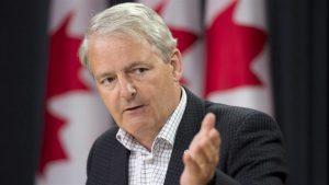 Marc Garneau. Photo : La Presse canadienne/Adrian Wyld