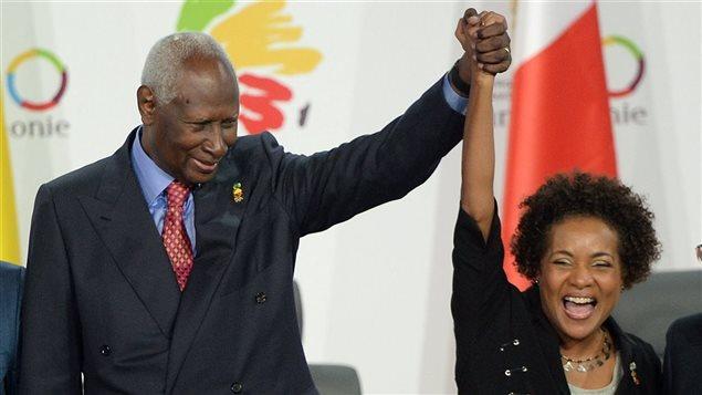 Michaëlle Jean élue présidente de l'OIF en décembre 2014. Photo : AFP