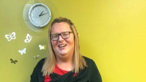 Reann Legge a pu bénéficier des services de la docteure Sara Dungavell. Photo : Radio-Canada