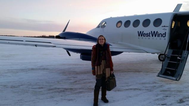 La Dre Sara Dungavell. Photo : Radio-Canada