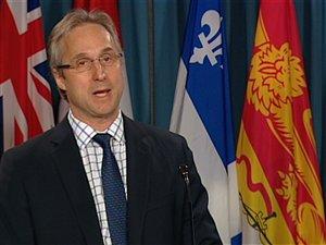 Jean-Pierre Fortin, président national du Syndicat des douanes et de l'immigration