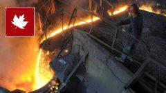 Un ouvrier dans une aciérie chinoise Photo : Reuters/Jianan Yu