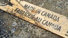 Un planche de bois Photo : Radio-Canada/Martin Thibault