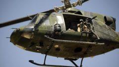 Un CH-146 en Afghanistan