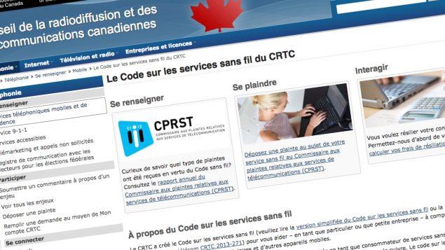 L'an dernier, le Conseil de la radiodiffusion et des télécommunications canadiennes (CRTC) a créé le Code sur les services sans fil pour que les consommateurs des services vocaux et de données sans fil mobiles connaissent mieux leurs droits et leurs obligations associés à leurs contrats avec les fournisseurs de services sans fil. CLIQUEZ POUR VOIR