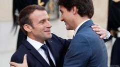Emmanuel Macron et Justin Trudeau - Photo : Reuters