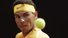 Rafael Nadal a raison de Denis Shapovalov au Masters de tennis de Rome en Italie.