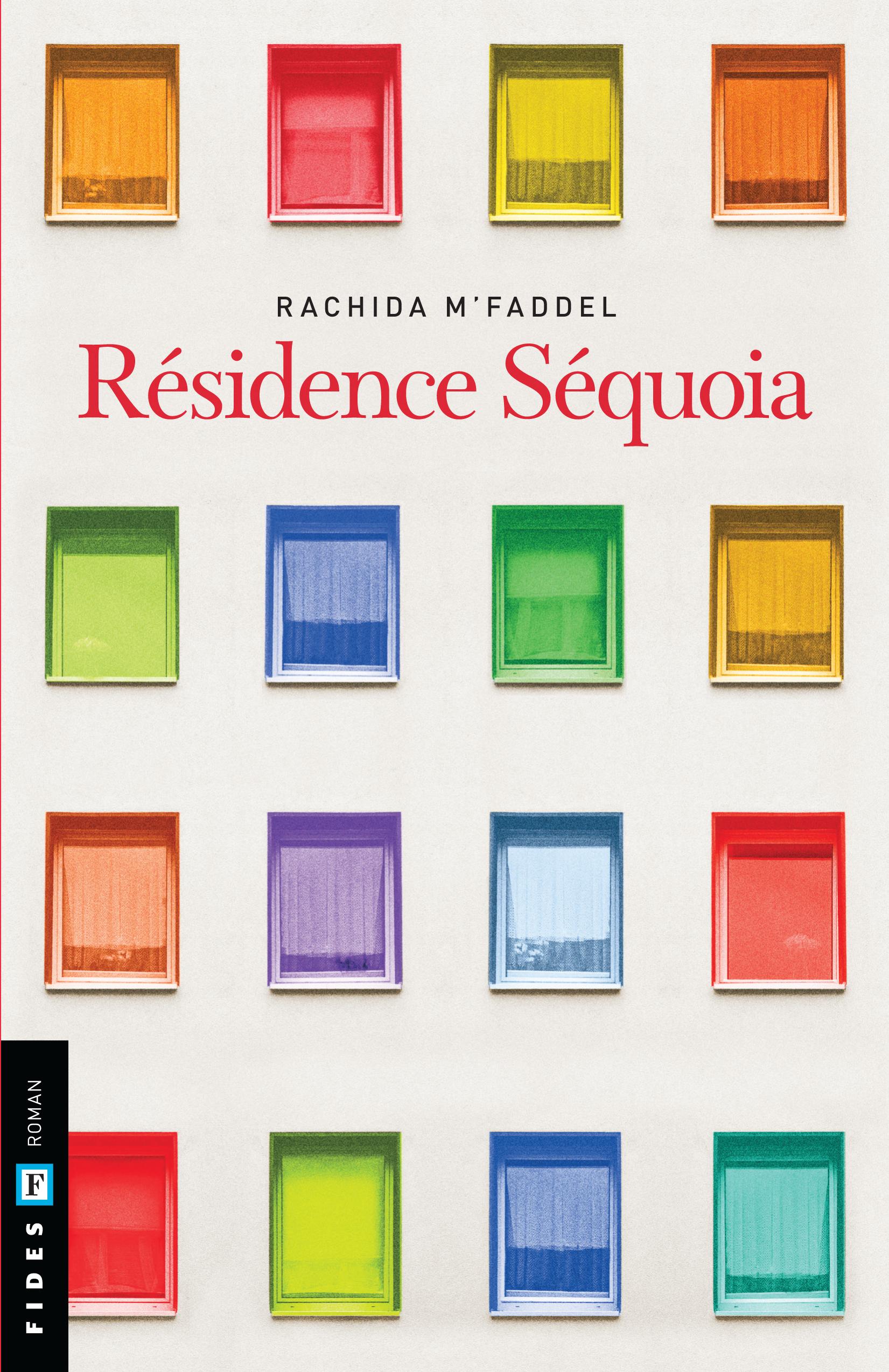 La couverture du romna Résidence Séquoia de l'écrivaine Rachida M'Faddel.