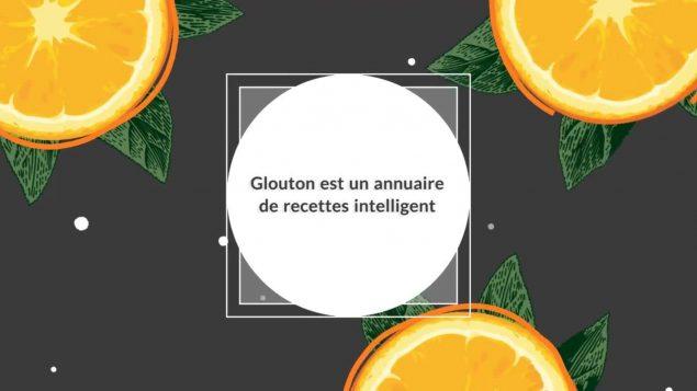 Un aperçu du site glouton.ca