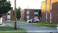 L'immeuble de Fredericton où a eu lieu la fusillade qui a fait 4 morts dont deux policiers.
