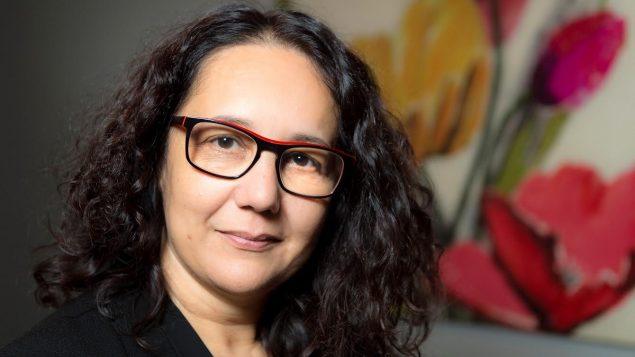 Sabrina Lemeltier dirige une maison qui héberge des femmes victimes de violence.
