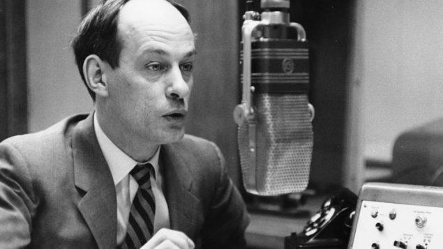 René Lévesque, le journaliste/Radio Canada