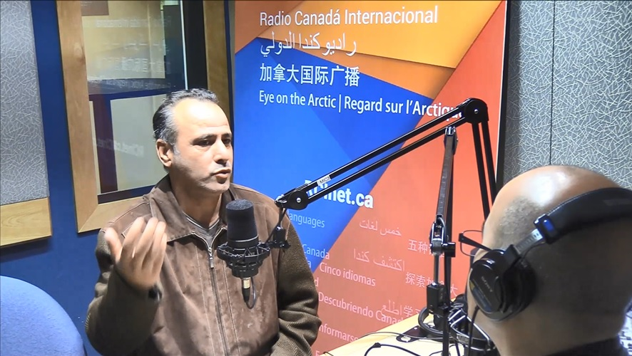 Ali Kaidi, docteur en philosophie et cofondateur de l'Association québécoise des nord-africains pour la laïcité - RCI