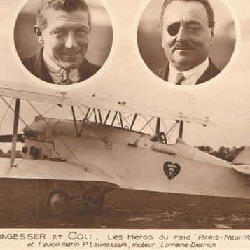 Deux aviateurs français auraient-ils traversé l'Atlantique avant Lindbergh?