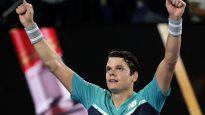 Milos Raonic victorieux contre Stan Wawrinka à Melbourne