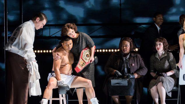 Une scène de l'opéra Champion de Terrence Blanchard
