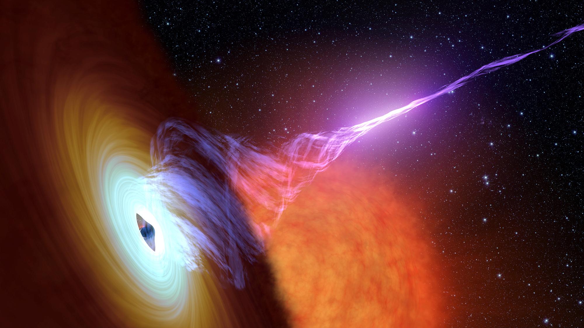 Découvrez la première image d'un trou noir en direct
