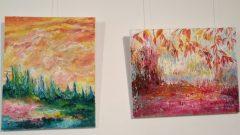 Le vernissage de l'exposition de Bahia Kiared, la Terre en arc-en-ciel, aura lieu aujourd'hui mardi à la galerie Espace Mushagalusa de Montréal - Photo : Courtoisie