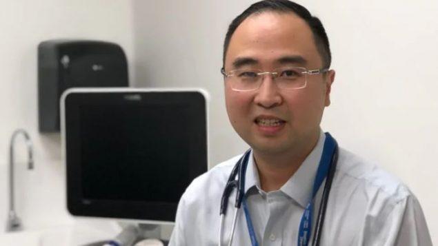 Le Dr Peter Tanuseputro de l'Hôpital d'Ottawa, l'un des auteurs de l'étude - Julie Ireton / CBC