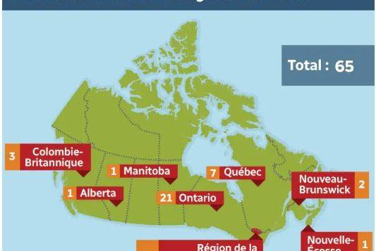 65 plaintes ont été déposées à l'encontre de l'Agence des services frontaliers et reçues par le Commissariat aux langues officielles en 2018. Photo : Cam Gauthier / Radio Canada