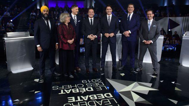 Élections 2019 au Canada : dernier débat des chefs en français