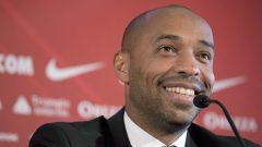 Thierry Henry dispose aussi d'une expérience du soccer nord-américain, puisqu'il a terminé sa carrière de joueur dans la MLS avec les Red Bulls de New York (2010-14) - AP Photo / Olivier Anrigo