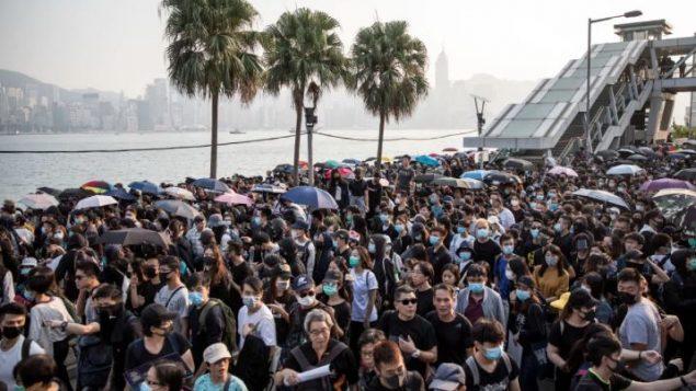 Manifestation à Hong Kong, le 1er décembre 2019 - Chris Mcgrath / Getty Images