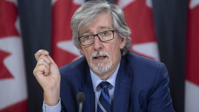 Daniel Therrien, le commissaire à la protection de la vie privée du Canada - La Presse Canadienne / Adrian Wyld