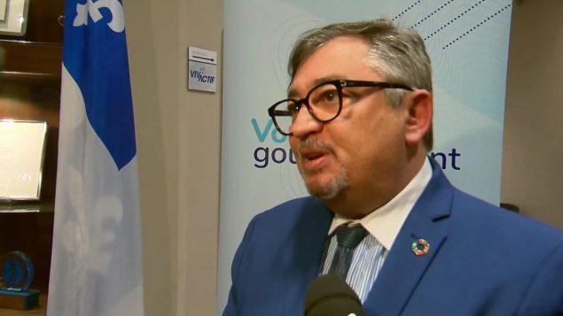 Le Dr Horacio Arruda, directeur national de santé publique du Québec - Radio Canada