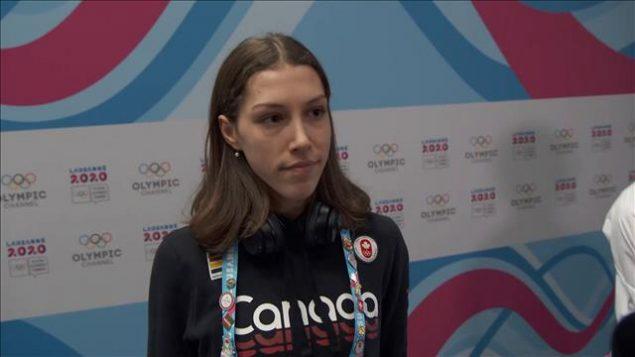 Florence Brunelle, patinage de vitesse sur courte piste - Radio Canada
