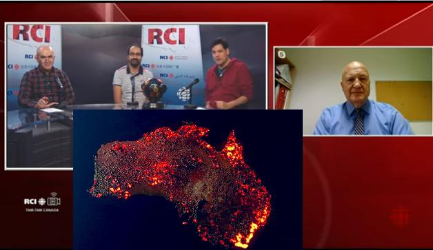 L'Australie et le Canada commencent à rôtir sous un climat de catastrophes