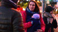 La députée de Québec Solidaire, Émilise Lessard-Therrien, a accouché il y a deux mois et demi - Photo : Facebook Émilise Lessard-Therrien